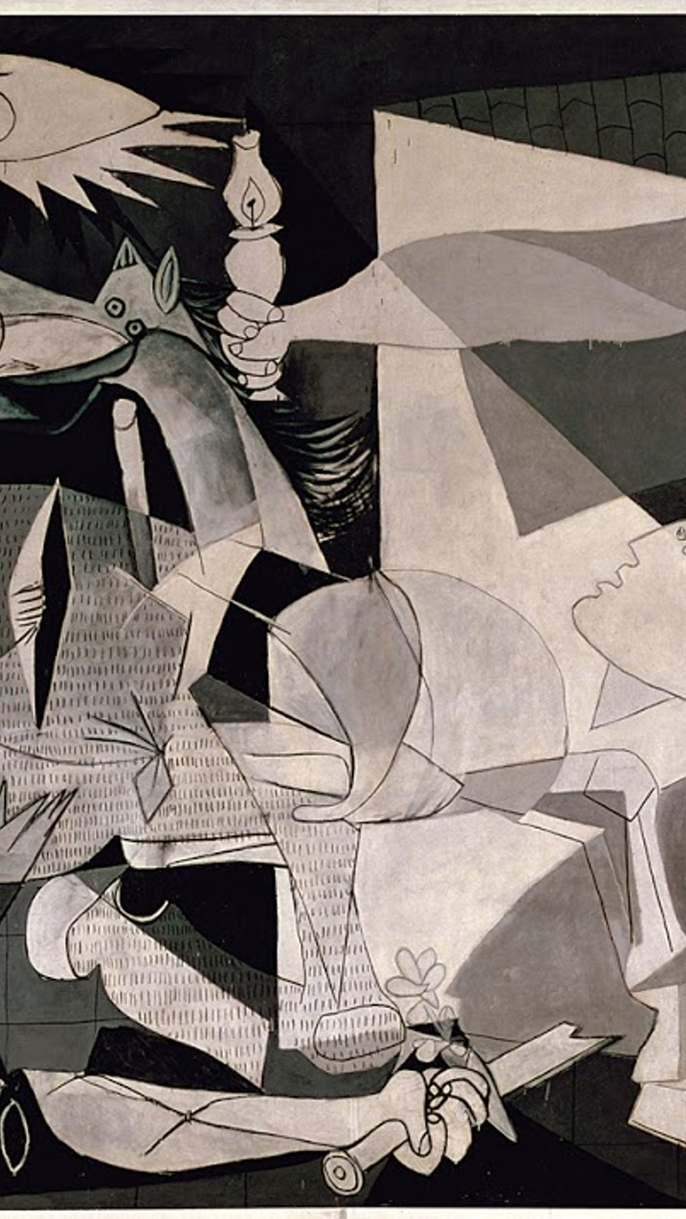 an overview of the work guernica by pablo picasso Pablo picasso overview critics have often noted how changes in style in picasso's work often go hand focus on the picasso during his creation of guernica.