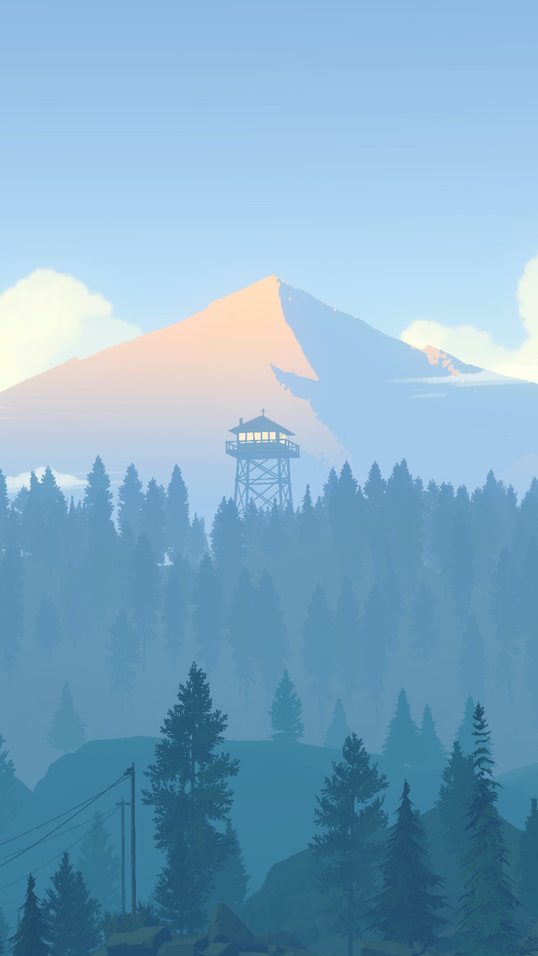 Firewatch E3 Ps4 Banner By Olly Moss