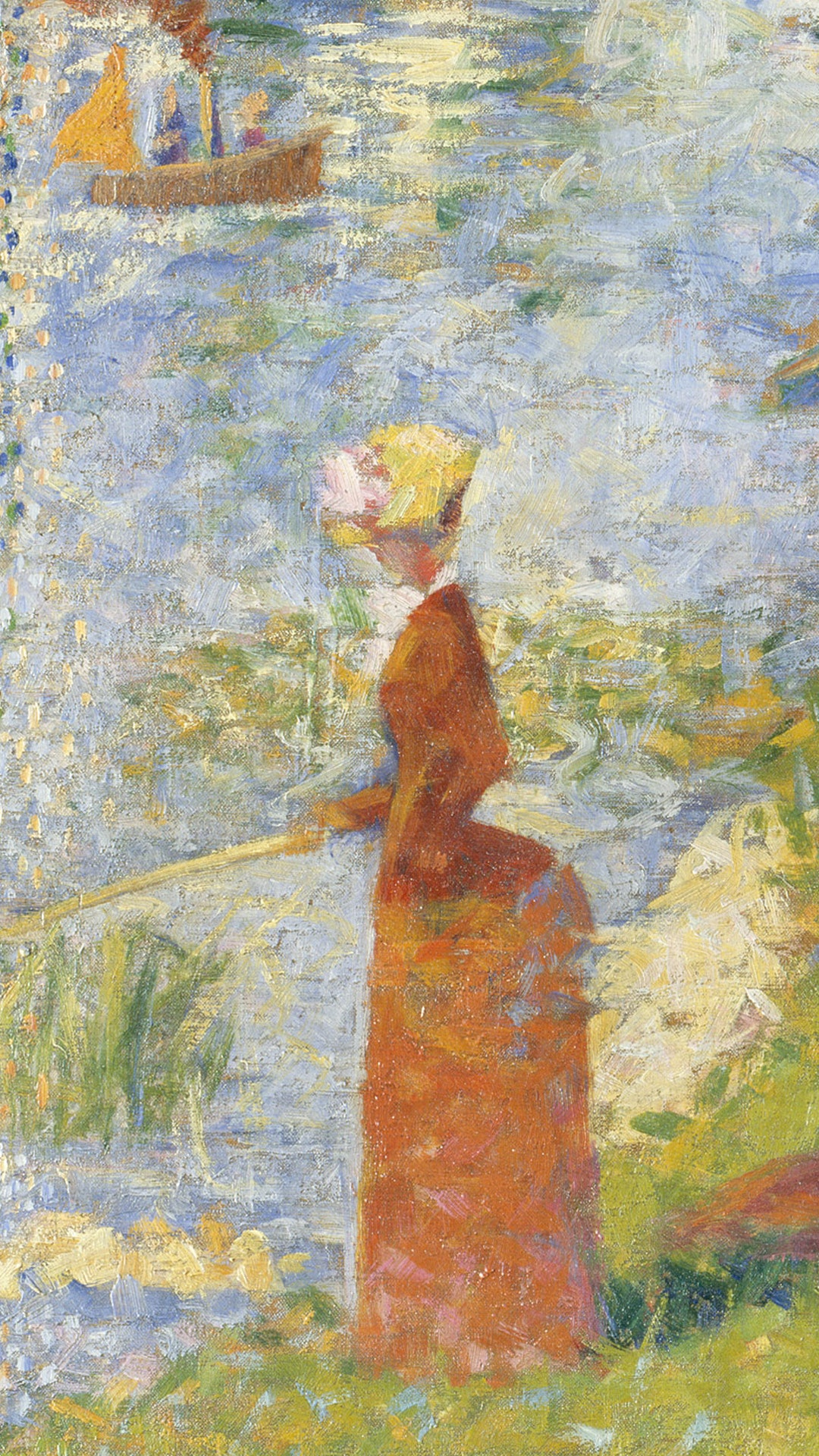 Georges Seurat by A Sunday on La Grande Jatte - Electric Objects