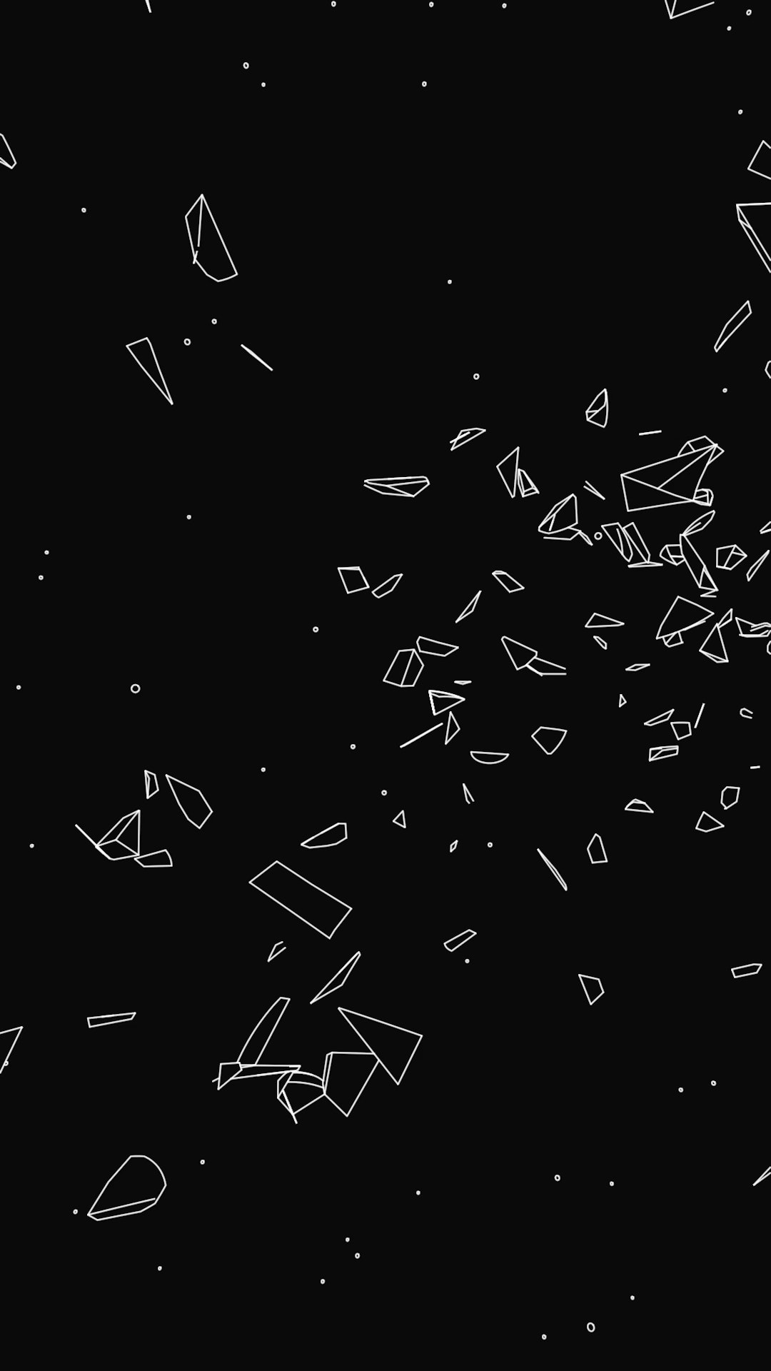 asteroid belt by pi slices electric objects